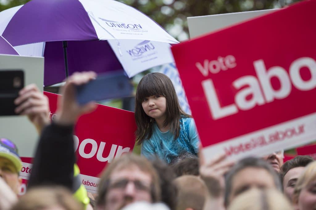 Jeremy Corbyn's campaign drew comparisons with that of US Senator Bernie Sanders' presidential run last year (AFP Photo/JON SUPER)