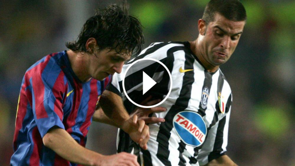 VÍDEO: ¡Qué crack! Cuando la Juventus conoció a Messi