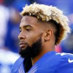 Peeing like a dog draws a penalty for Giants WR Odell Beckham