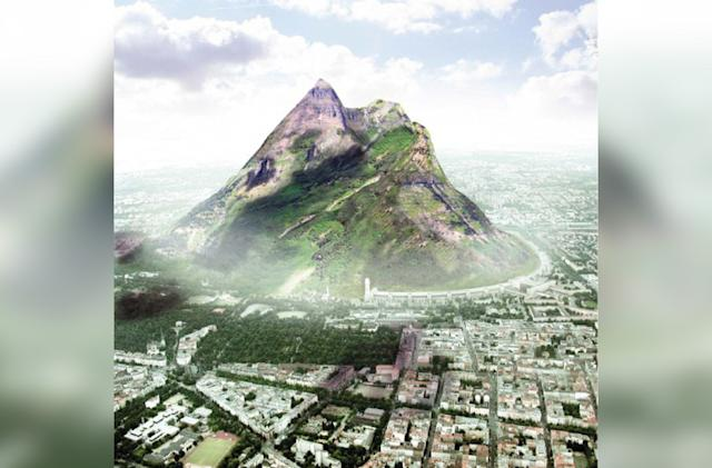 The UAE wants an artificial mountain to increase rainfall