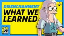 What We Learned About Disenchantment | SDCC 2018