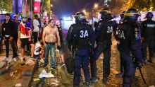 Two France football fans die during night of violence as World Cup celebrations descend into violence
