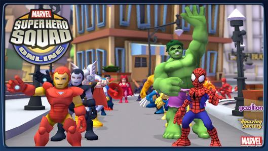 The Stream Team: An eight-year-old's view of Super Hero Squad Online