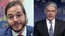 """Namorado de Fátima ironiza prisão de Queiroz e brinca: """"Não perco o 'JN'"""""""