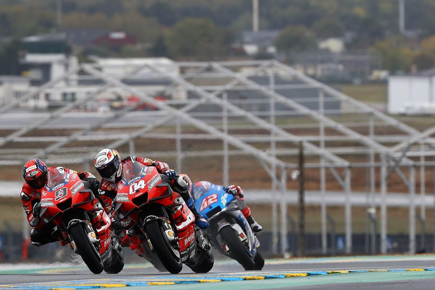 Dovizioso Paid For Wrong Motogp Tyre Choice In Wet French Gp A photo of a thot is a thoto. yahoo finance