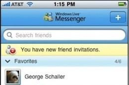 Windows Live Messenger for iPhone previewed