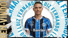 Atacante Luiz Fernando é anunciado como reforço do Grêmio