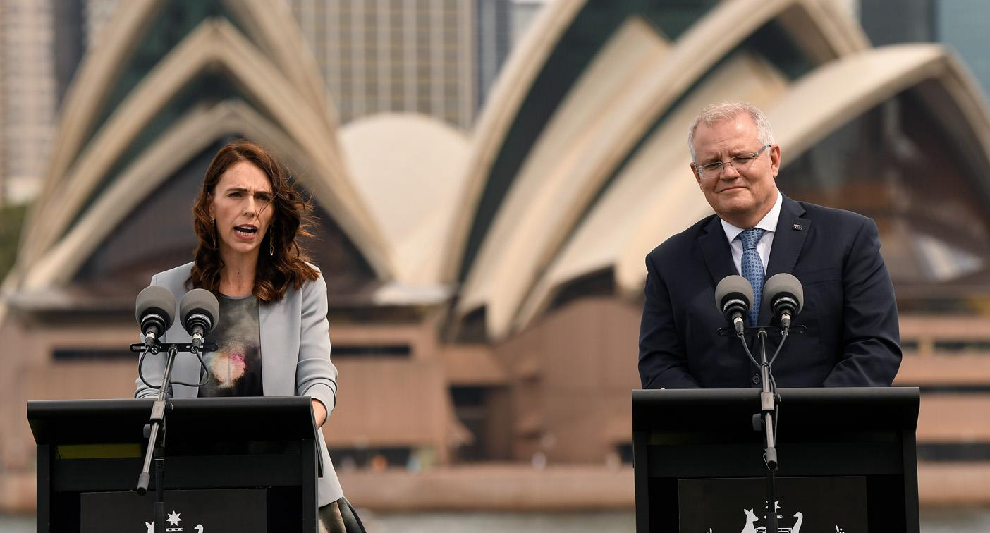 'Don't deport your problems': Jacinda Ardern takes swipe at Australia