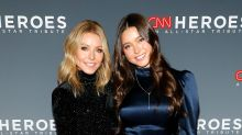 Kelly Ripa and gorgeous daughter wow in mini dresses for rare red carpet appearance
