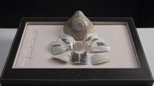 Covid-Bling-Bling: Juwelier baut Maske aus Gold und Diamanten