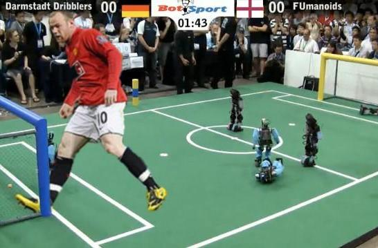 Robots 'to beat world's best' human footballers by 2050 and other things said when high