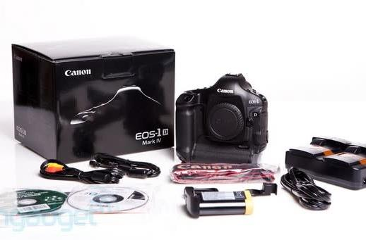 Canon's EOS-1D Mark IV gets unboxed, high ISO modes tested