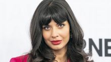 Jameela Jamil slams Kim Kardashian's new body makeup line: 'I'd rather just make peace with my million stretch marks'