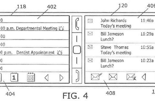 BlackBerry patent application shows the dual-screen phone that thankfully never was