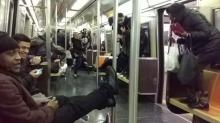 Una rata entró a un vagón del Metro… y se desató el caos