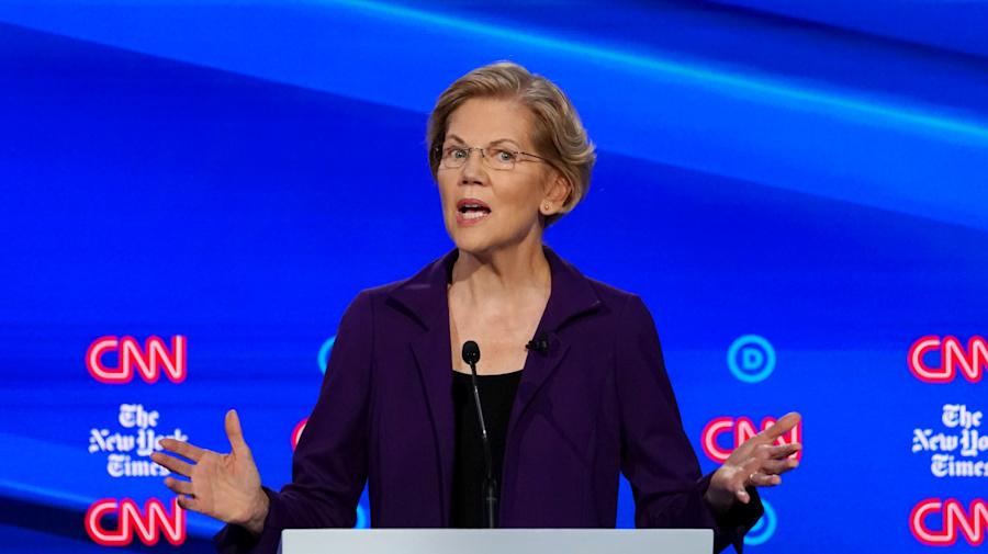 Rivals press Warren on how she'll pay for health care