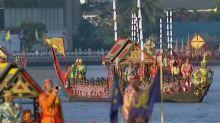 Thai King's final journey towards the throne