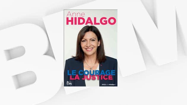 La première affiche de campagne d'Anne Hidalgo révélée