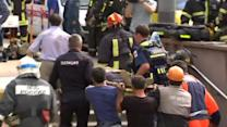 Moscow subway derailment kills at least 12