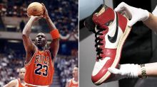 Michael Jordan's legendary sneakers set to obliterate auction record