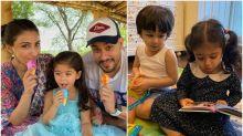 Kareena Kapoor Khan, Soha Ali Khan Post Adorable Pictures as Inaaya Turns 3