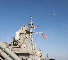 U.S. Warship Shoots Down Ballistic Missile by Scotland