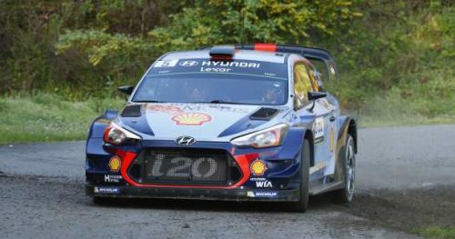 Rallye - WRC - Corse - ES8 : Sébastien Ogier a perdu beaucoup de temps sur Thierry Neuville