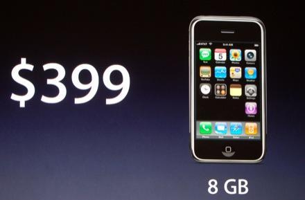 Apple iPhone hits the one million mark