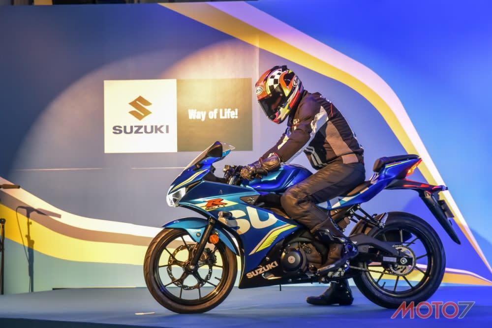 2017 SUZUKI GSX-R150。