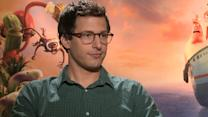 Andy Samberg And Terry Crews Take On 'Cloudy With A Chance Of Meatballs 2'