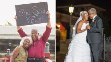 These Newlyweds Are A Reminder That You Can't Put An Age Limit On Love