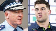 Top cop defends NRL player's 'sickening' arrest despite judge's fury