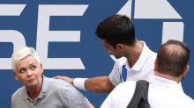 Djokovic pede 'apoio' à juíza de linha após ataques na internet