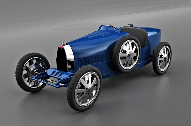 Bugatti unveils a $33,000 EV for (rich) kids