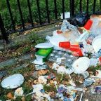 'It's disgusting': NYC streets, parks filling with trash
