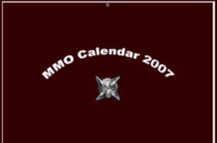 Buy an MMO calendar, save the children