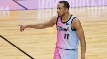 Heat guard Avery Bradley was upset to learn he got COVID-19 at work