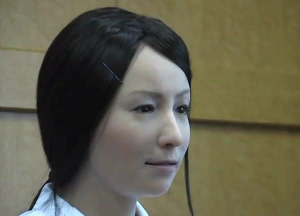 Actroid-F: the angel of death robot coming to a hospital near you (video)