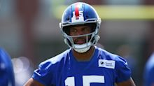 Golden Tate held out of Giants practice after his, wife's rants over usage