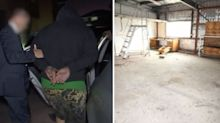 Real estate agents find bound man in property's shed