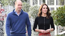 Kate Middleton Attends a Christmas Party in the Perfect Plaid Skirt