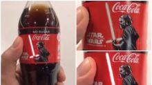 【新片速報】超正星戰版可口可樂 撳掣光劍識著燈!