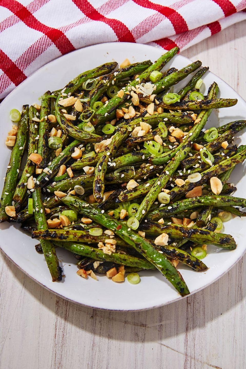 """<p>Very <span class=""""redactor-unlink"""">underrated!</span></p><p>Get the recipe from <a href=""""https://www.delish.com/cooking/recipe-ideas/a22243865/grilled-green-beans-recipe/"""" rel=""""nofollow noopener"""" target=""""_blank"""" data-ylk=""""slk:Delish"""" class=""""link rapid-noclick-resp"""">Delish</a>.</p>"""
