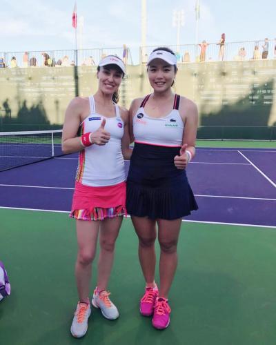 網球》WTA印地安泉網賽 詹詠然/辛吉絲直落二晉16強