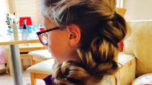 Single Dad Is on Adorable Mission to Style His Daughter's Hair