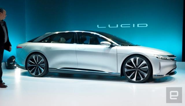 Lucid Motors is struggling to produce its luxury EV