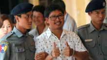Reuters reporters in court 100 days after their arrest in Myanmar