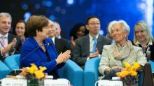 IMF chief says building 'peer pressure' to follow trade rules