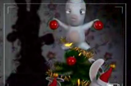 Bunnies can't stand Christmas