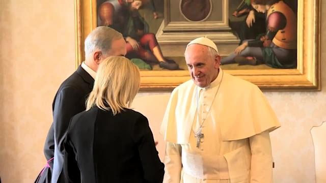 Israeli PM Netanyahu meets with Pope Francis